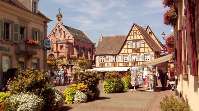 Eguisheim alsacia francesa