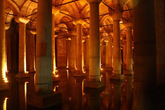 cisterna de la basilica estambul