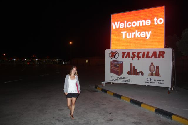 Frontera con Turquía