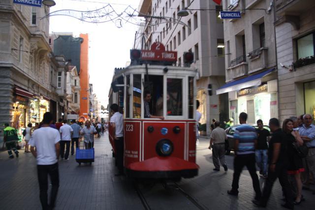 tranvia nostálgico Estambul