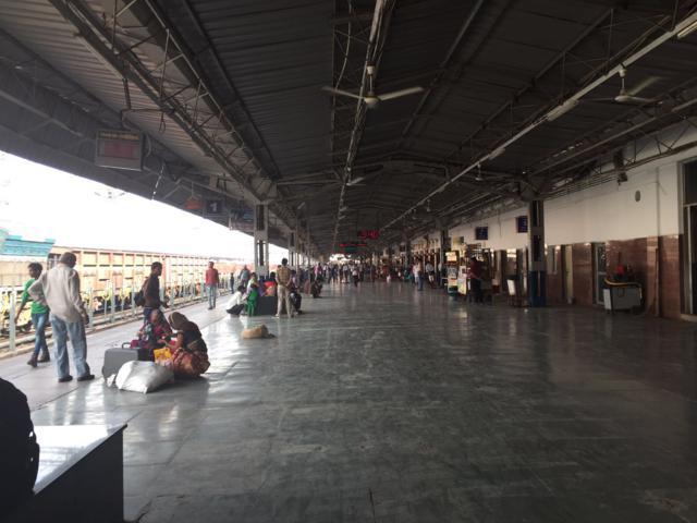 Estación de tren de Agra