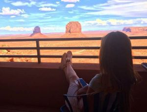 monument valley hotel the view