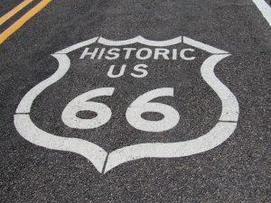 Recorriendo parte de la Ruta 66