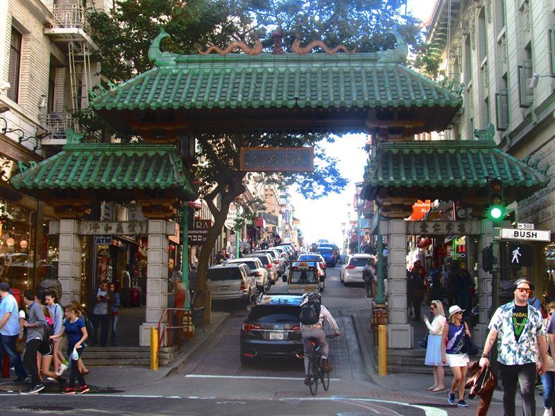 Puerta del dragón. Chinatown San Francisco