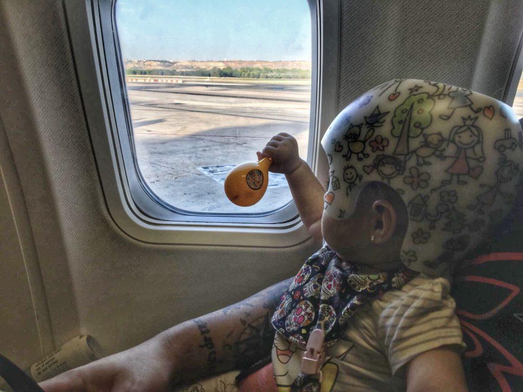 Primer vuelo de Aria