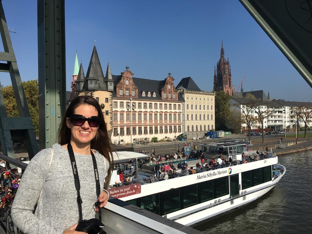 Orilla de los museos en Frankfurt