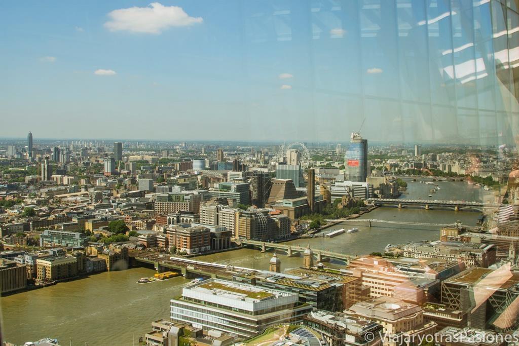Vista de Londres desde el Sky Garden
