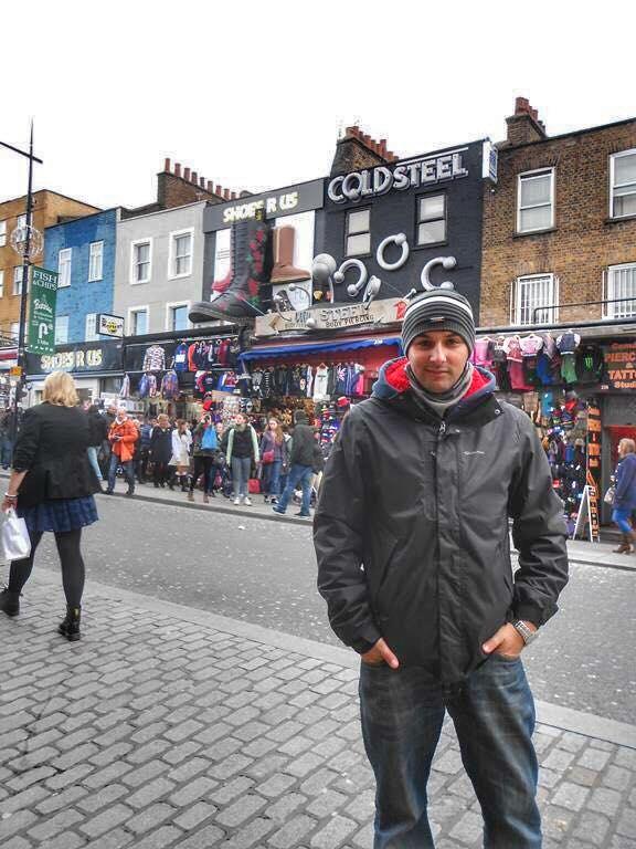 Candem Town en Londres