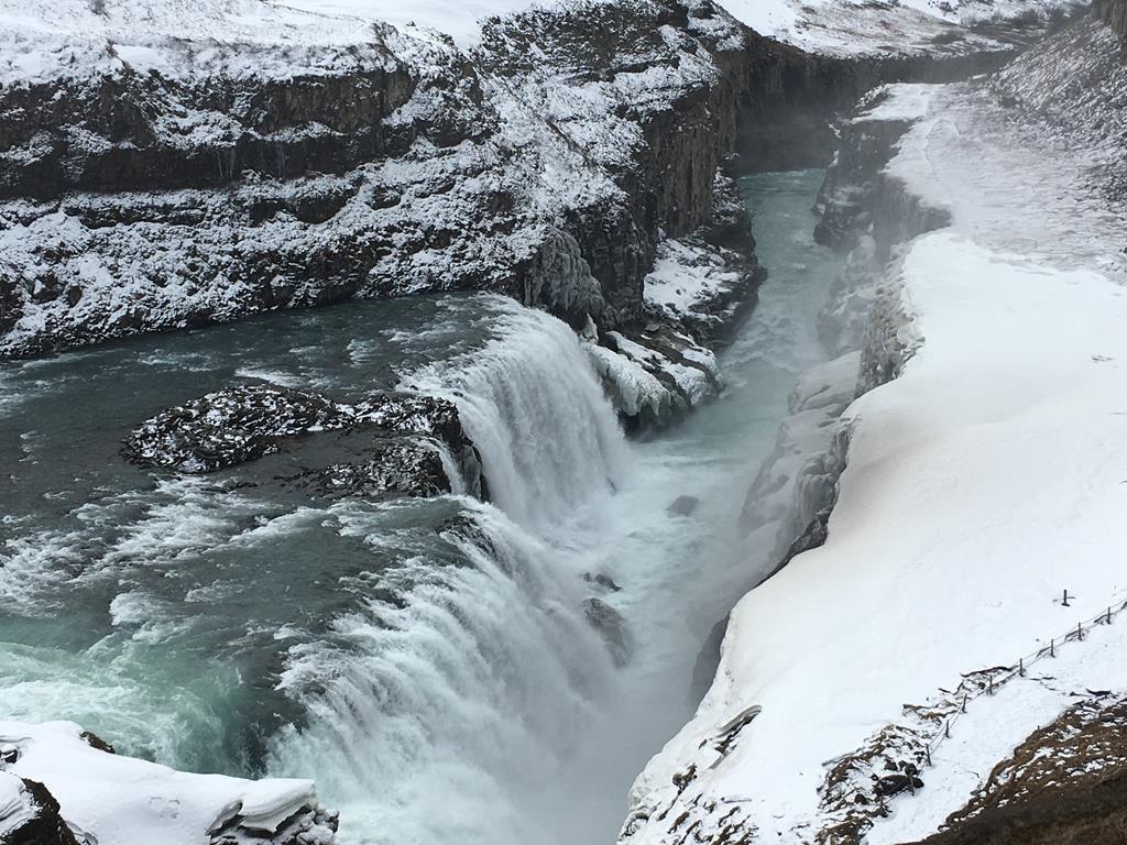 Gulfoss, círculo dorado, Islandia