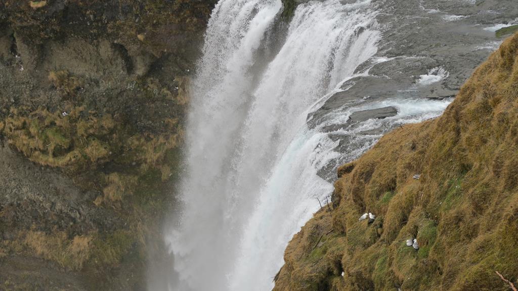 cascada de Skógafoss