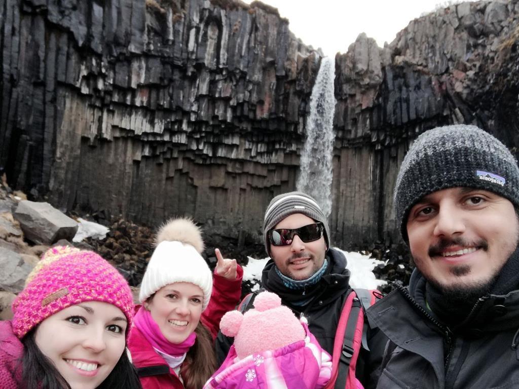 Svartiföss, Islandia