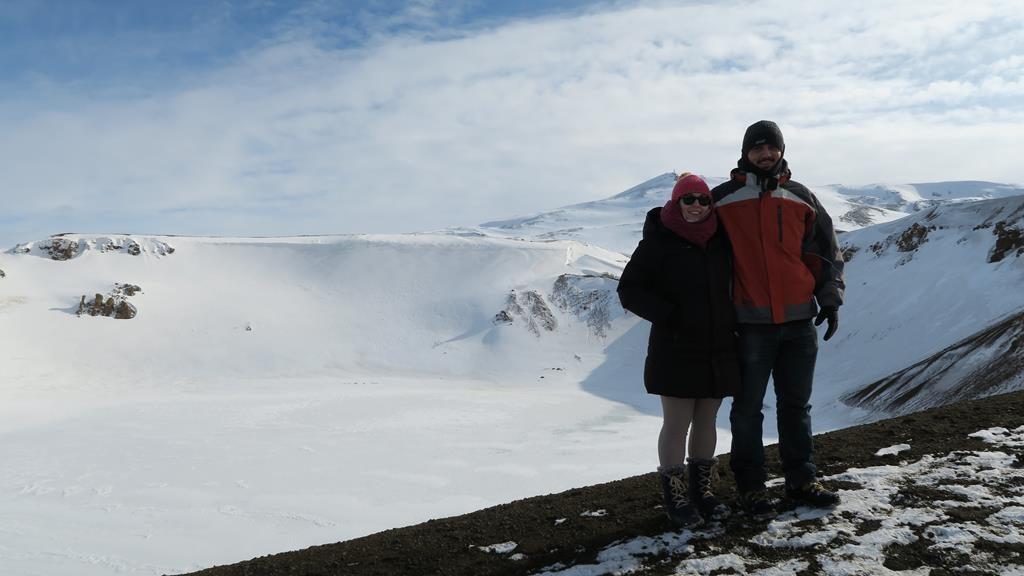cráter Viti del volcán Krafla