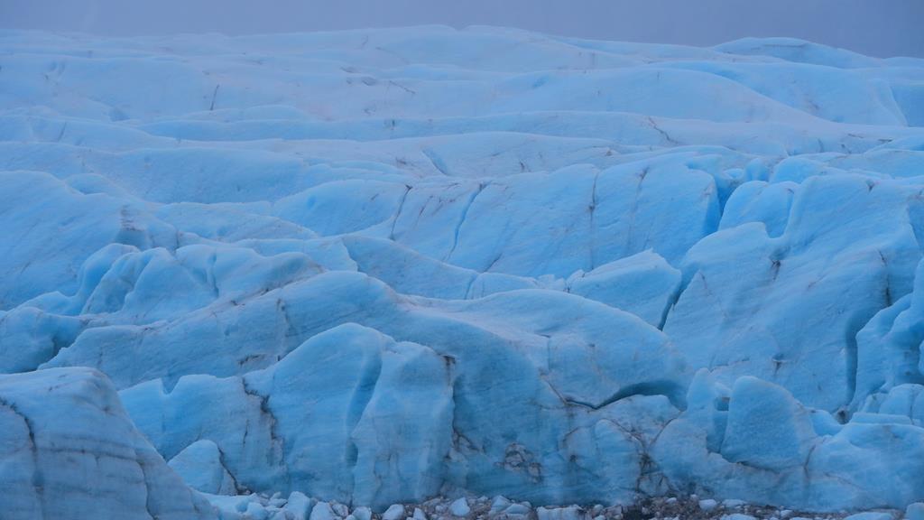 Lengua del glaciar Vatnajökull