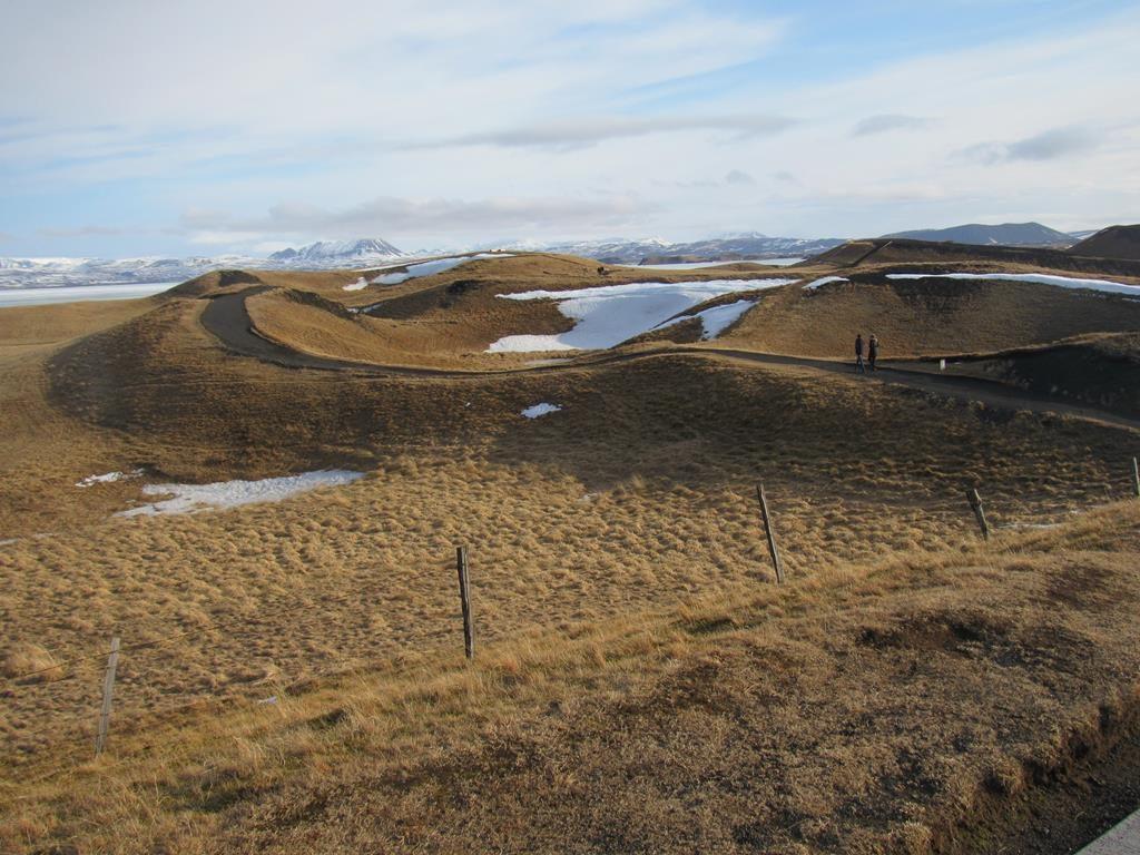 pseudocráteres del lago Myvatn