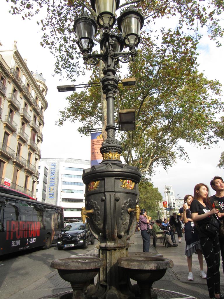 Fuente de Canaletas, Barcelona