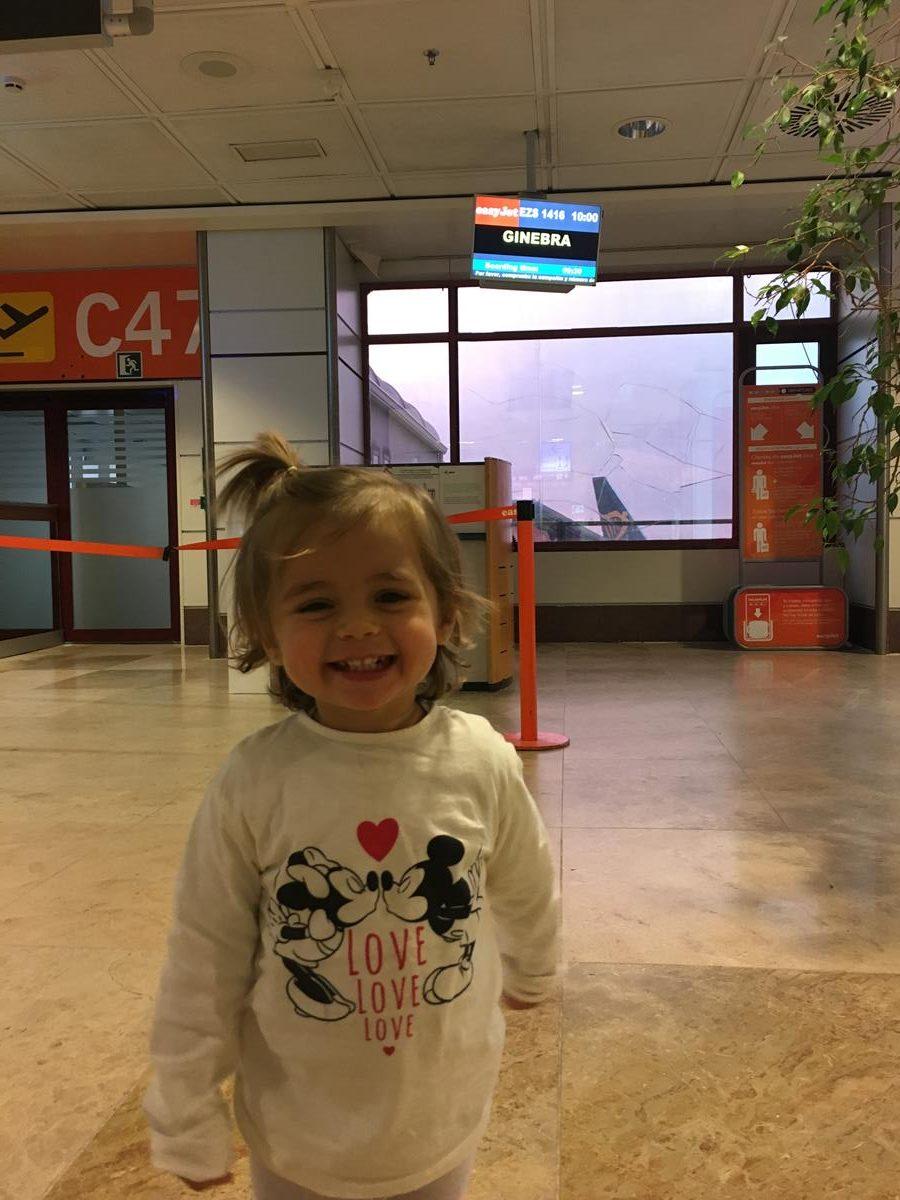 aeropuerto Madrid Barajas dirección a Ginebra