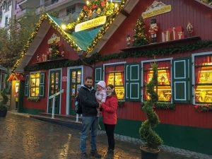 Visitando a Papá Noel en Rochers de Naye (Suiza)