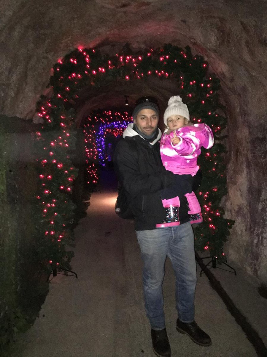 Rochers de Naye, Suiza, conociendo a Papá Noel