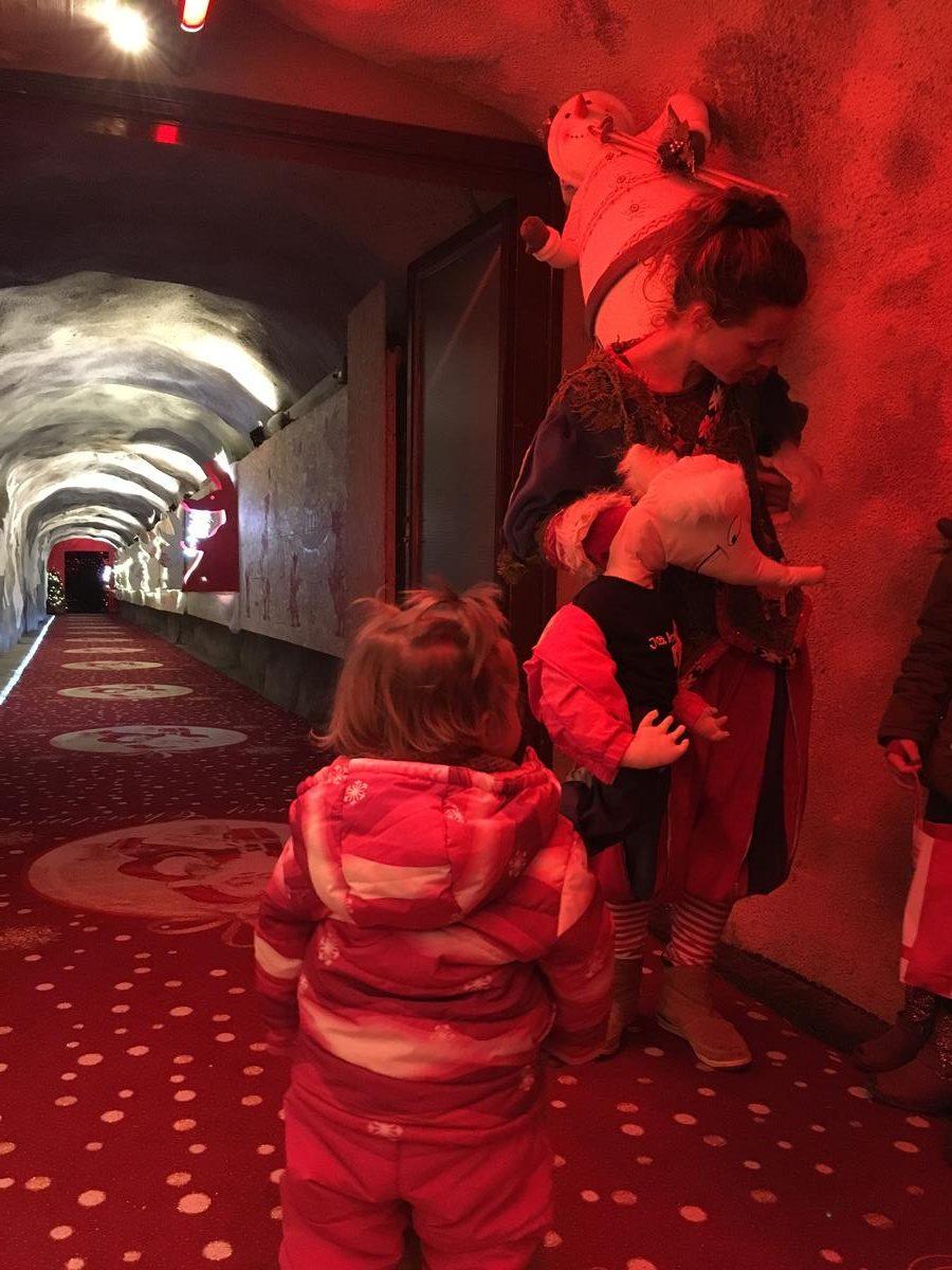 Visitando a Papá Noel en Suiza