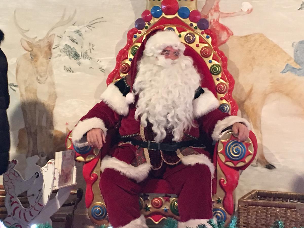 Papá Noel en Rochers de Naye, Suiza