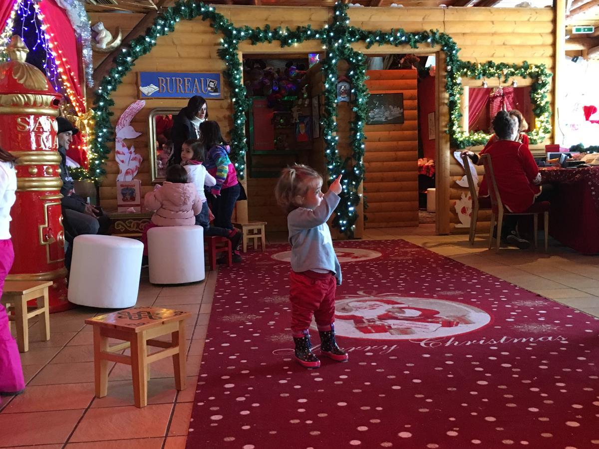 Visitando a Papa Noel en Suiza