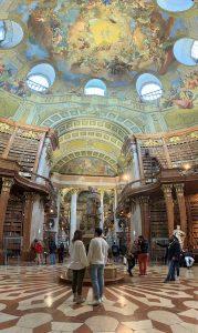 biblioteca nacional de Vienna