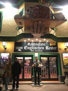 restaurante en Prater, Viena