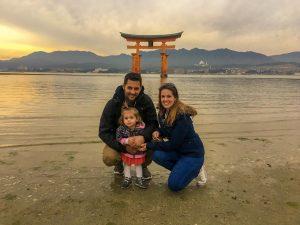 Presupuesto para 10 días en Japón, dos adultos y un bebé
