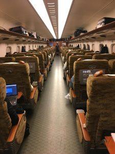 tren bala de Tokio a Miyajima