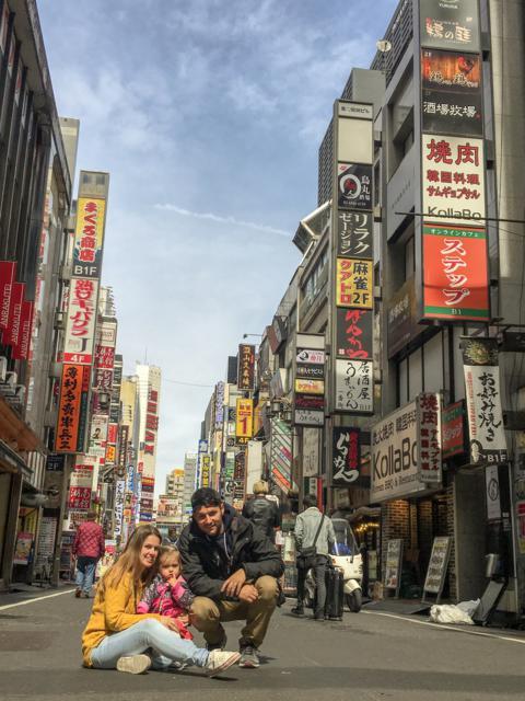 Shijuku, Tokio