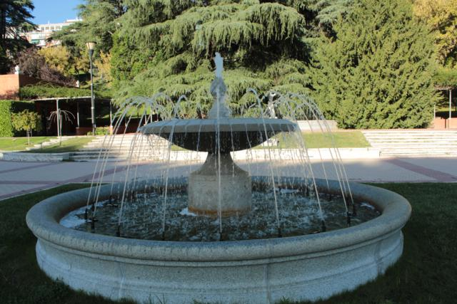 Parque de la rosaleda, madrid